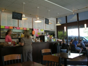 Everything's made to order at the 5 Corners Cafe