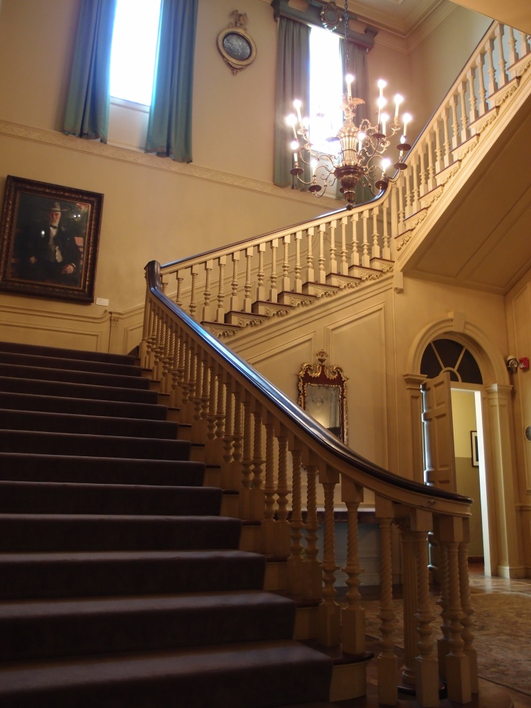 View upwards, from the first floor of the Stair Hall