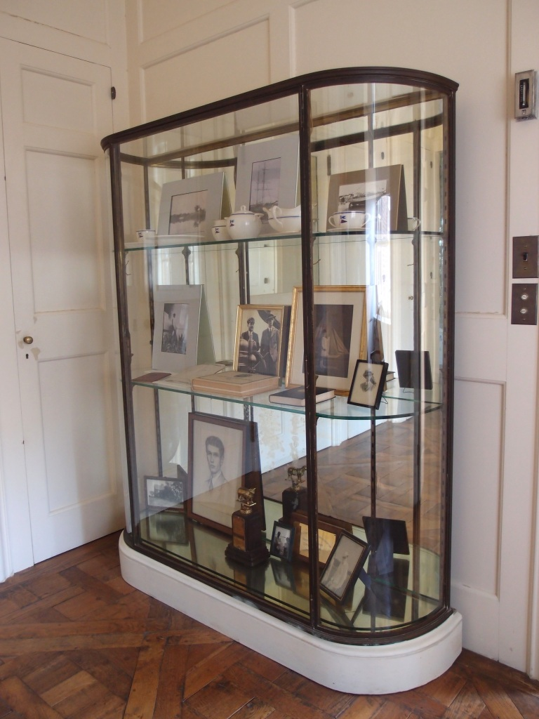 Display case in Cornelius' inner hallway.