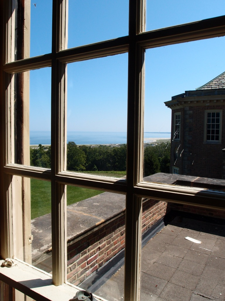 View from Cornelius' bedroom, toward Crane Beach.