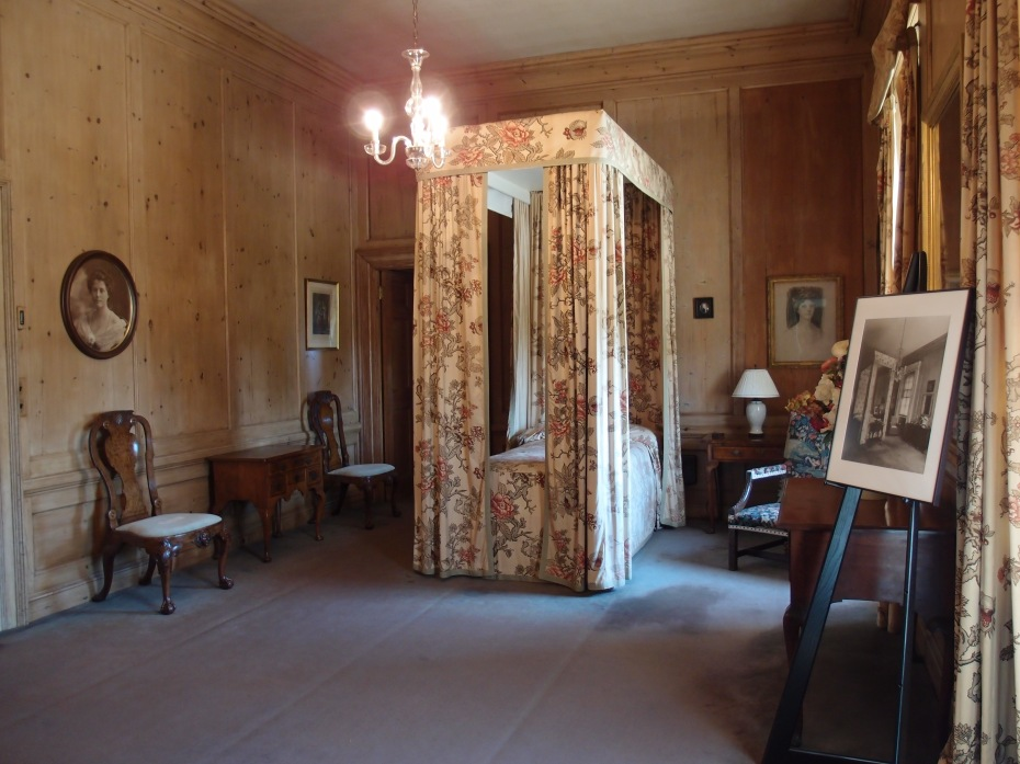 View of Mrs. Crane's bedroom, from the door to her dressing room.