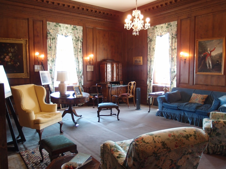 The private, second floor Sitting Room