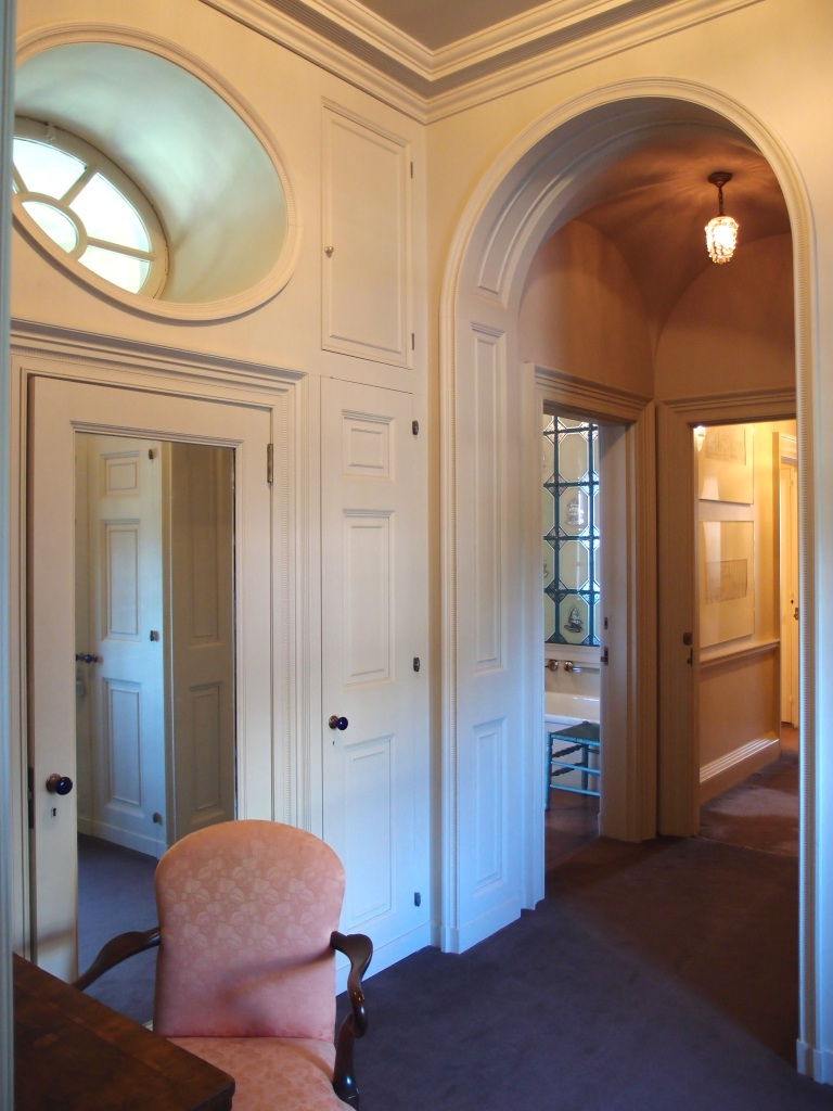 Inner hallway of daughter Florence Crane's bedroom suite.