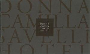 Donna Camilla Savelli Hotel. #27 via Garibaldi. Trastevere 00153, Rome, Italy. Telephone# +39-06-588861. Website: www.hoteldonnacamillasavelli.com