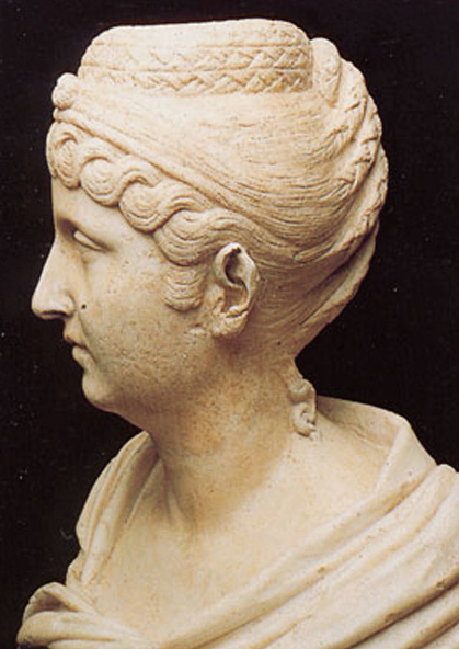 Faustina Major. Sculpted 138--161AD. Image courtesy of the Capitoline Museum.