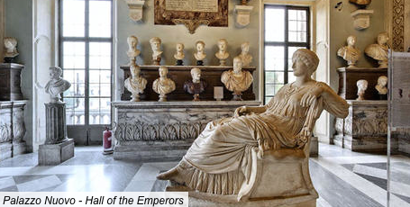 The Hall of Emperors. Image courtesy of the Capitoline Museum.