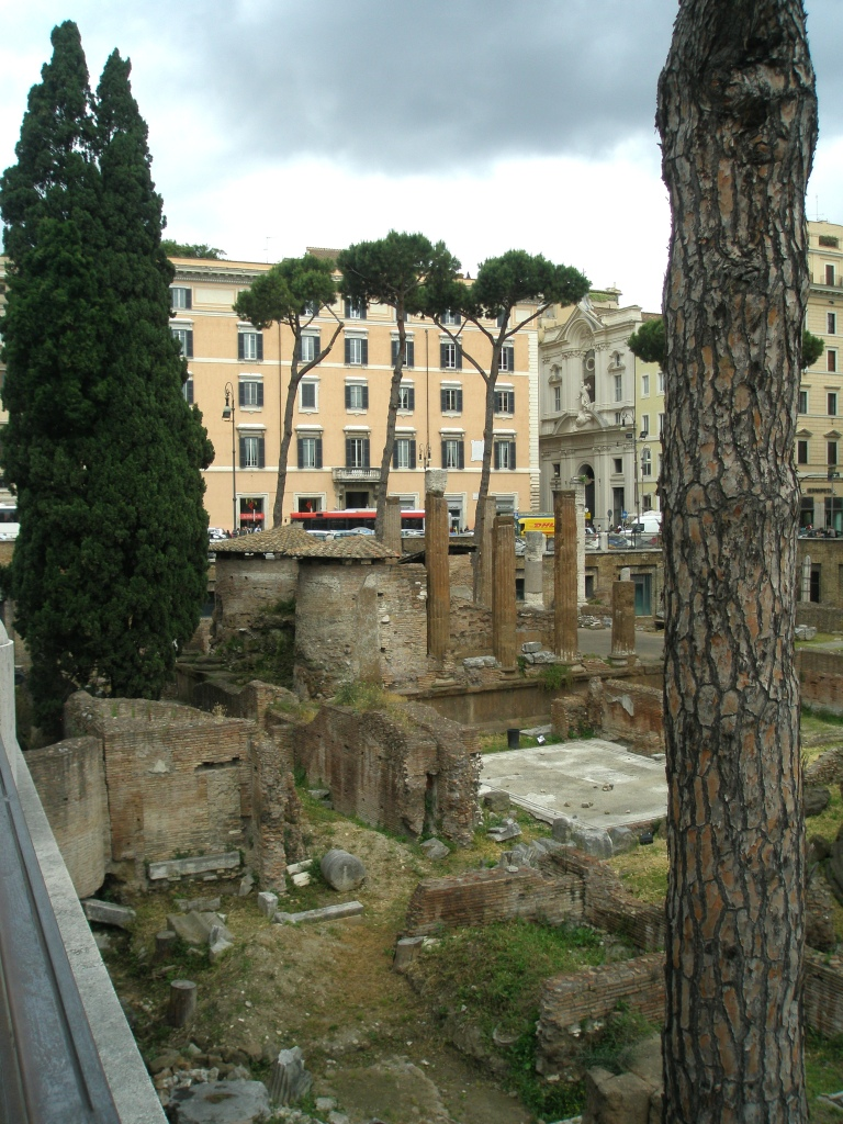 The open rectangular space marks the location of the oldest: Temple C, which was erected in either the 4th or 3rd century BC. This temple was built to honor Feronia, an ancient fertility go