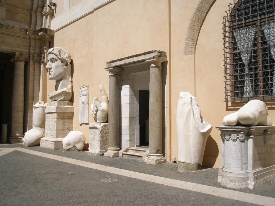 Courtyard of the Palazzo dei Conservatori