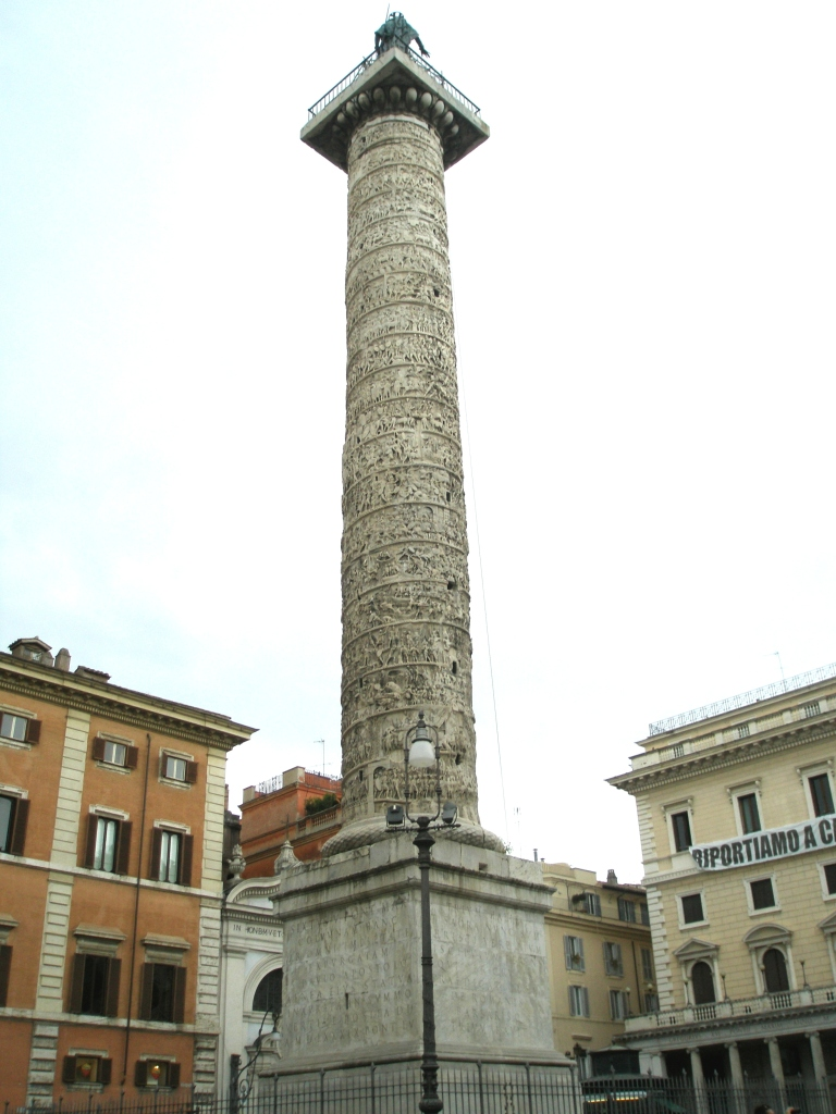 Colonna di Marco Aurelio. A Victory Column erected circa 193AD.