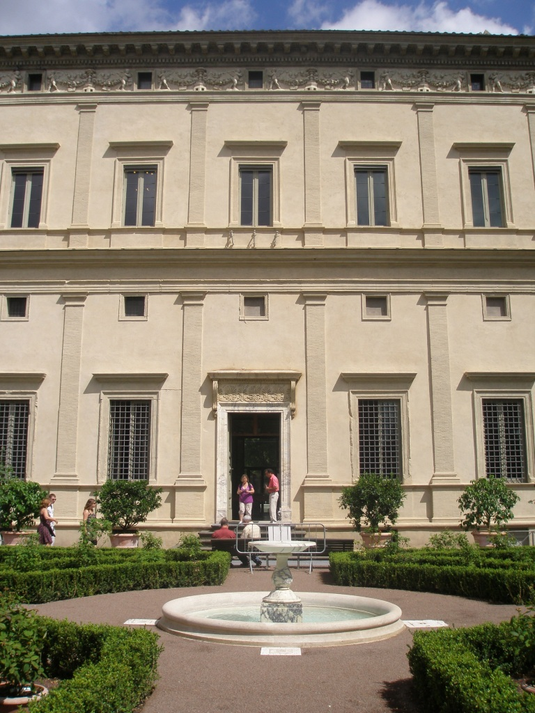 The Villa Farnesina. #230 Via della Lungara, Trastevere. Open Monday through Saturday, 9AM to 2PM. Admission fee: 6 Euros. www.villafarnesina.it
