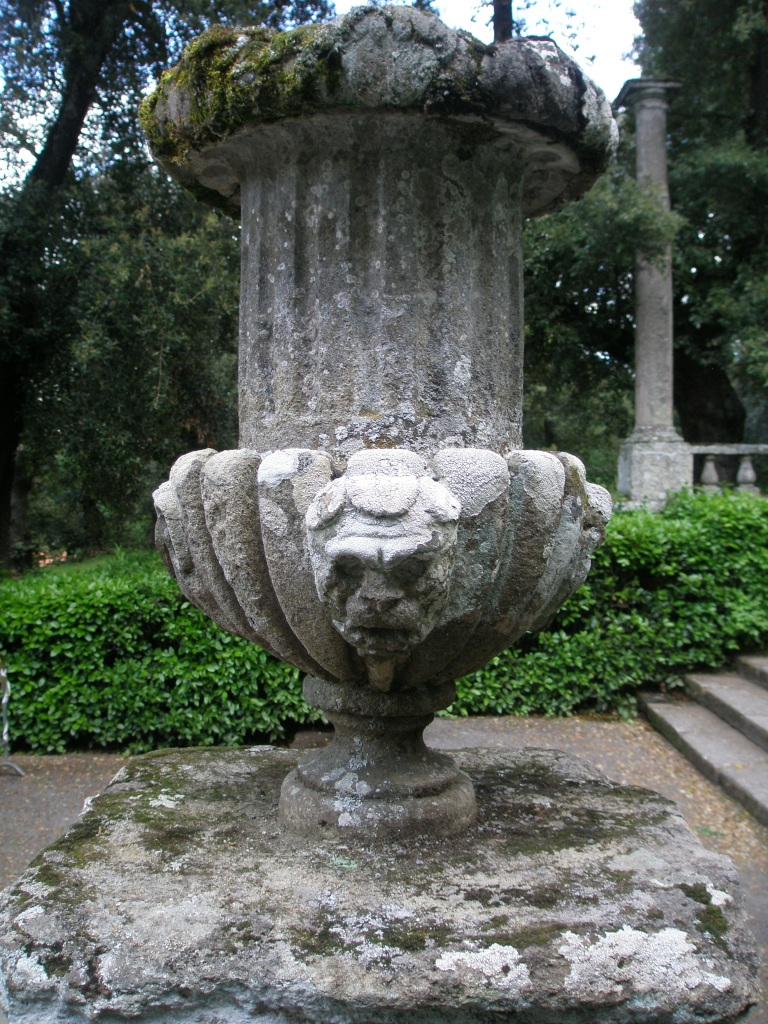 Urn near the Fountain of the Dolphins