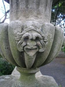 Villa Lante--Urn