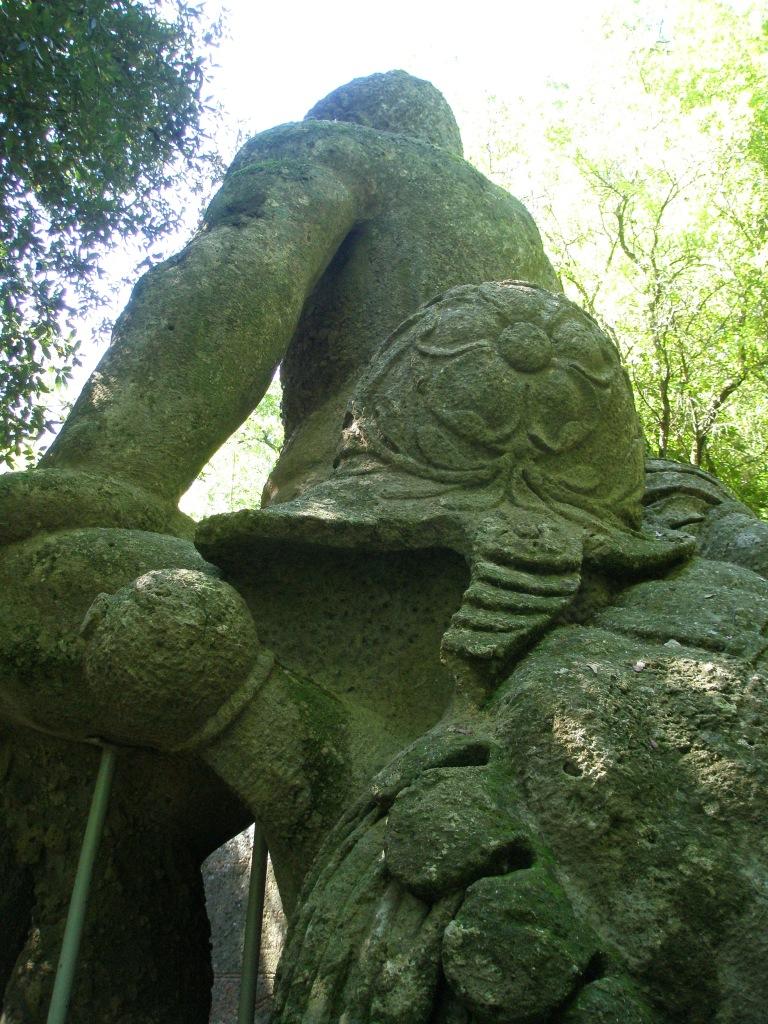 Detail of Hercules' Helmet & Armor