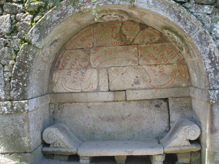 Etruscan Bench