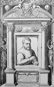 Architect Giacomo da Vignola—aka Il Vignola (born 1507, died 1573)---was responsible for the master plan of the gardens of Villa Lante