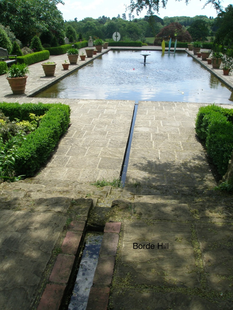 A Rill feeds the Pool, in the Italian Garden