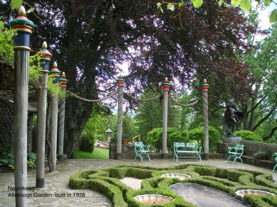 Naumkeag's Afternoon Garden, built in 1928