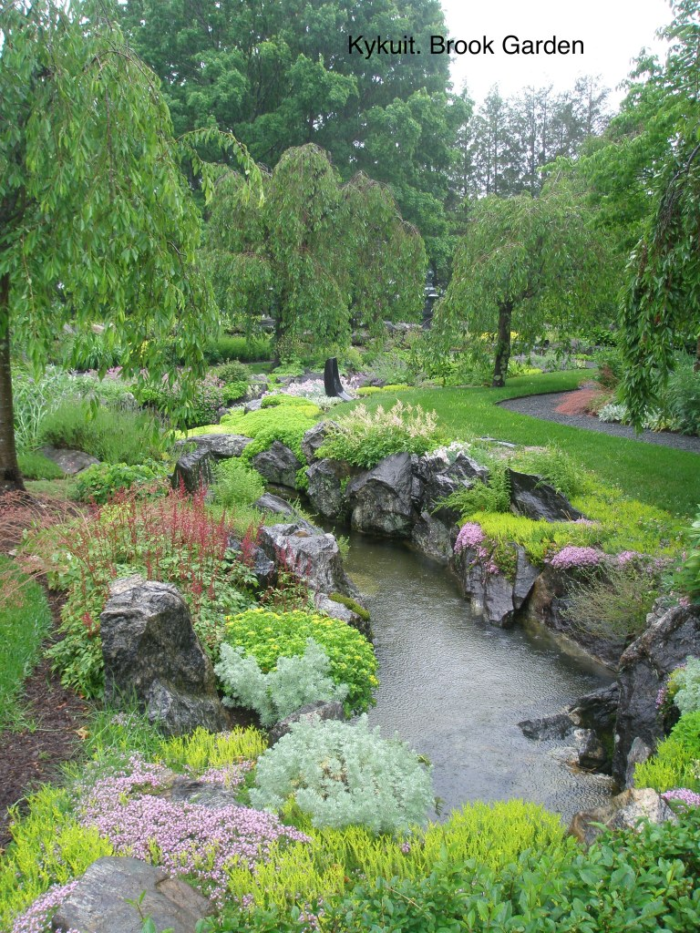 The Japanese-styled Brook Garden