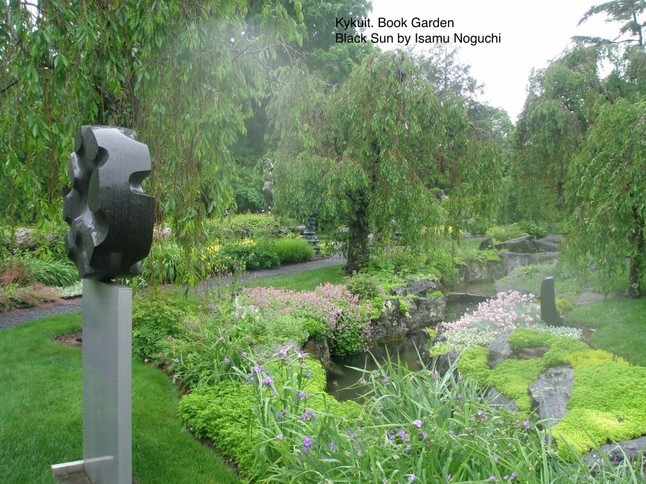 Sculpture from 1960, in the Brook Garden