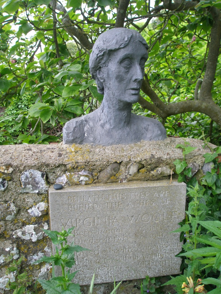 The ashes of both Virginia and Leonard Woolf are buried in the garden, at Monk's House