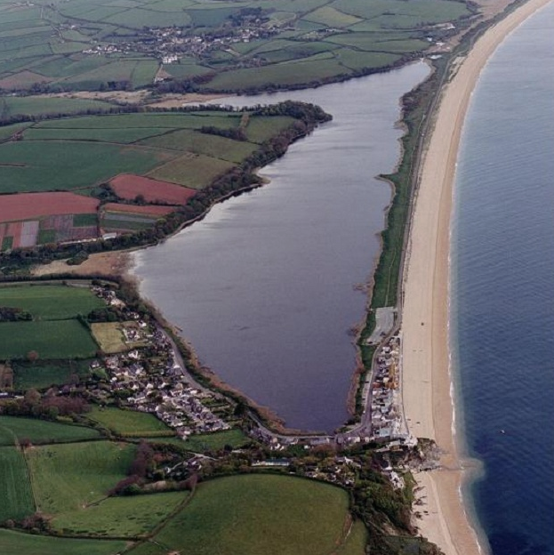 Aerial View of Slapton Ley. Image courtesy of South West Coastal Group.