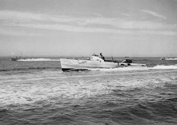 A German Schnellboot--- E Boat