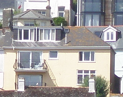 Close-up of our Dartmouth cottage.