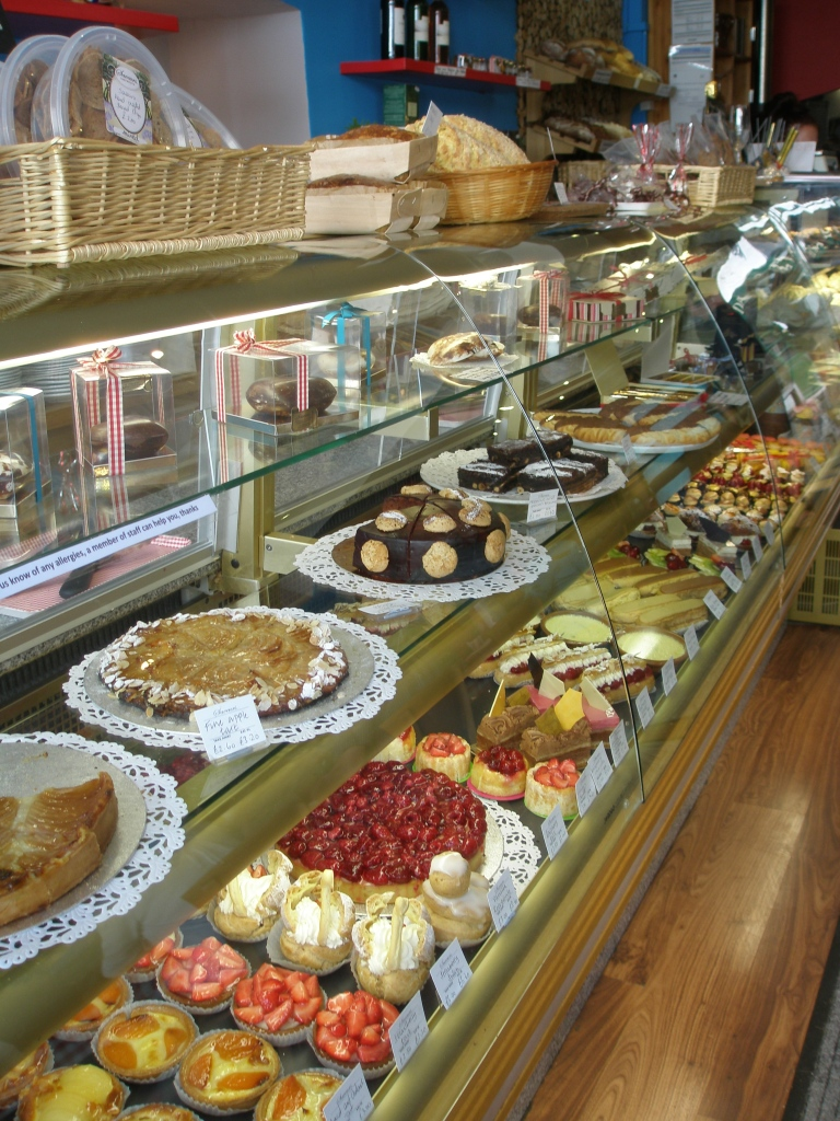 One of many pastry cases at Saveurs....need I say more?