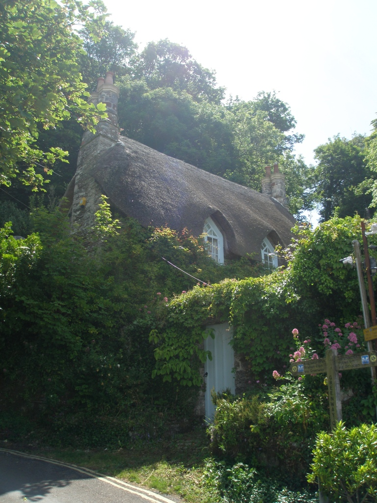 The Quay's thatched-roof cottage