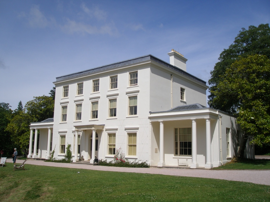 The main House, at Greenway
