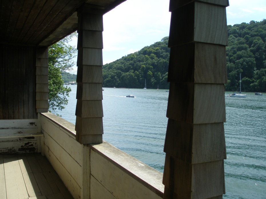 A serene vista, from the Boat House's Porch