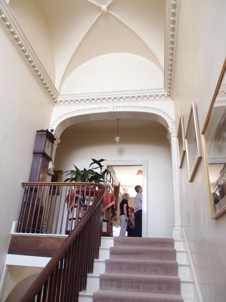 The Main Staircase, leading to the Bedrooms.