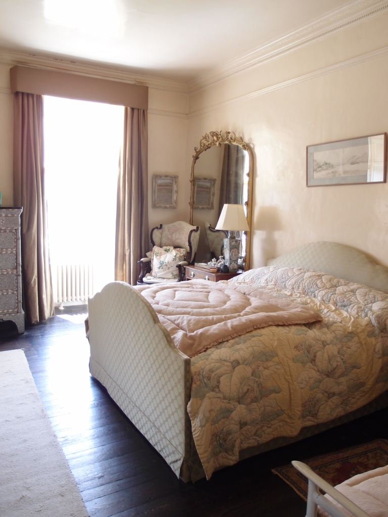 The Master Bedroom looks nearly the same as it did during Agatha's Christie's time.