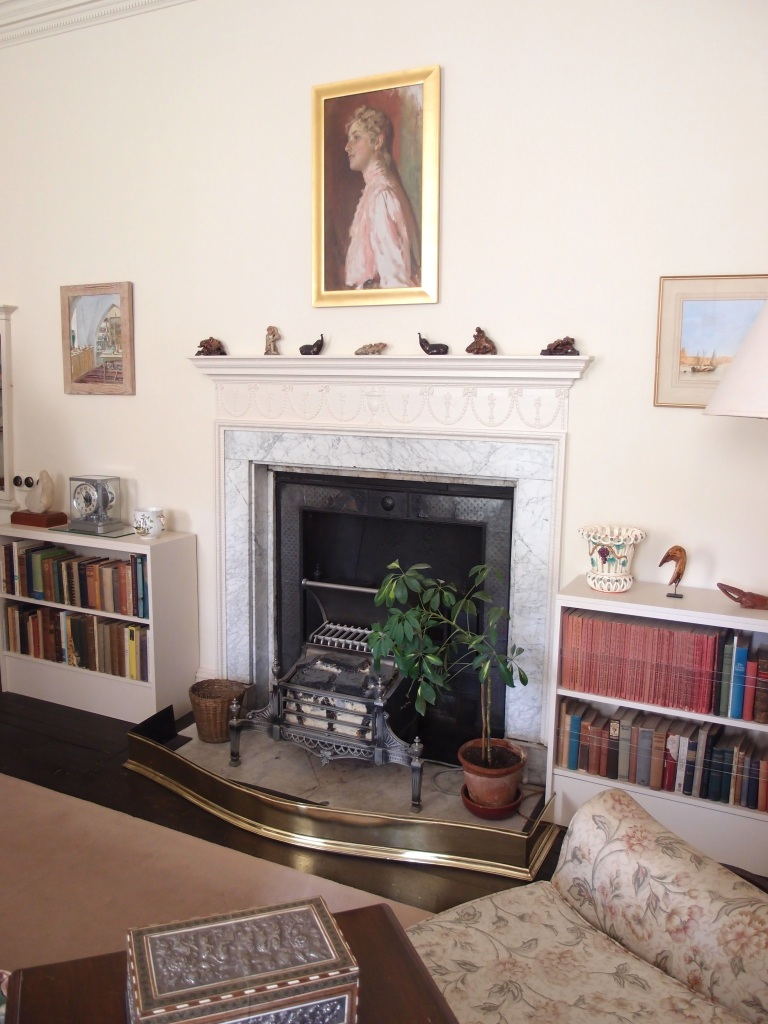 Originally a bedroom, the Sitting Room later became Max Mallowan's writing room. When Agatha was at Greenway, there's no evidence to suggest that she plied her author's trade. Of course, Agatha did weave elements of their country home into her mysteries, but her time in Devon was not spent in toil at her typewriter.