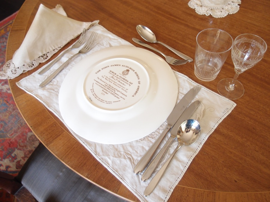 Place setting details