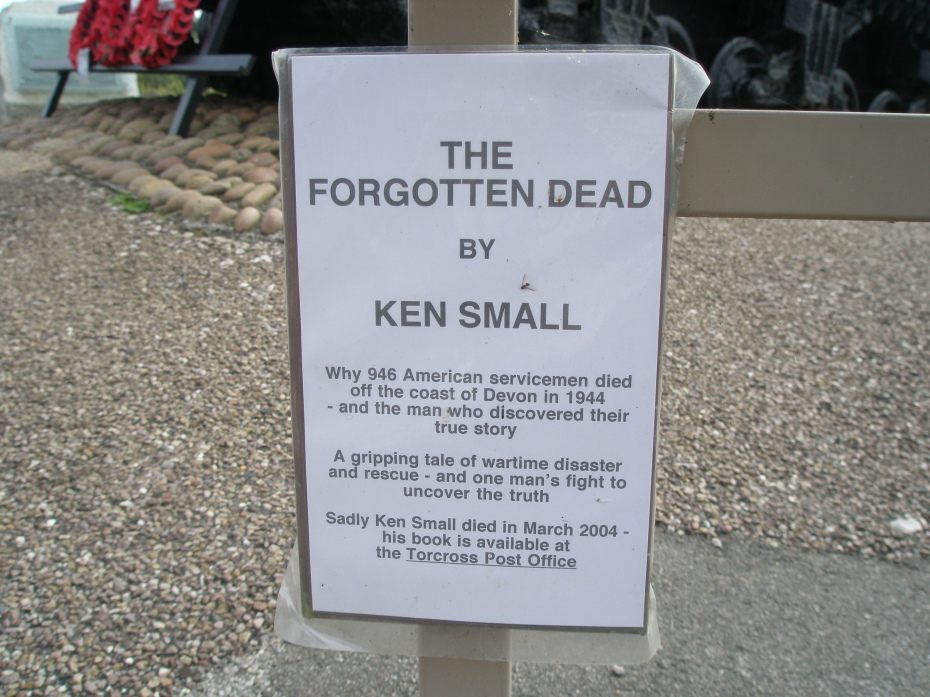 Historian Ken Small wrote the first complete story of the disaster at Slapton Sands