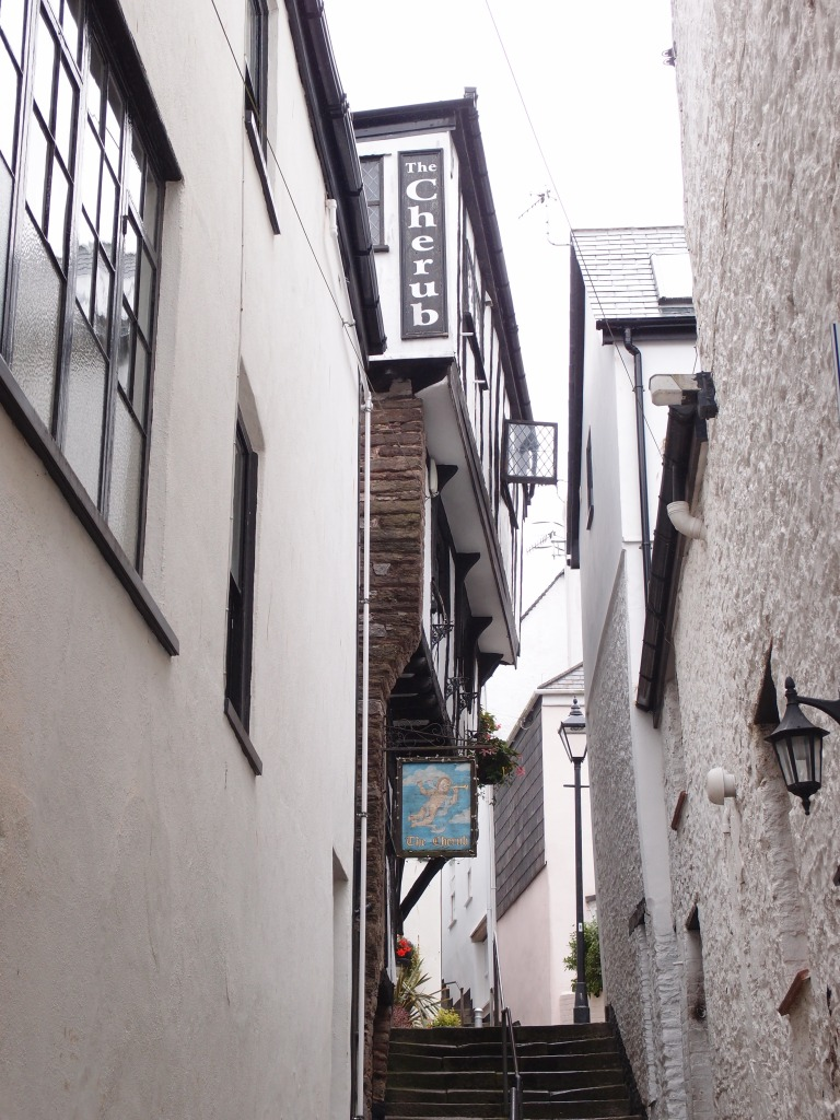 The Cherub Inn, built circa 1380, is the oldest secular building in Town, and the only complete medieval house.