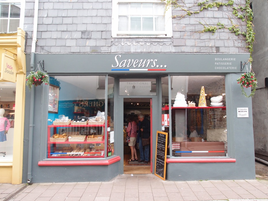 Saveurs. 3 Victoria Road, Dartmouth. TQ6 9RT website: www.saveurs.co.uk