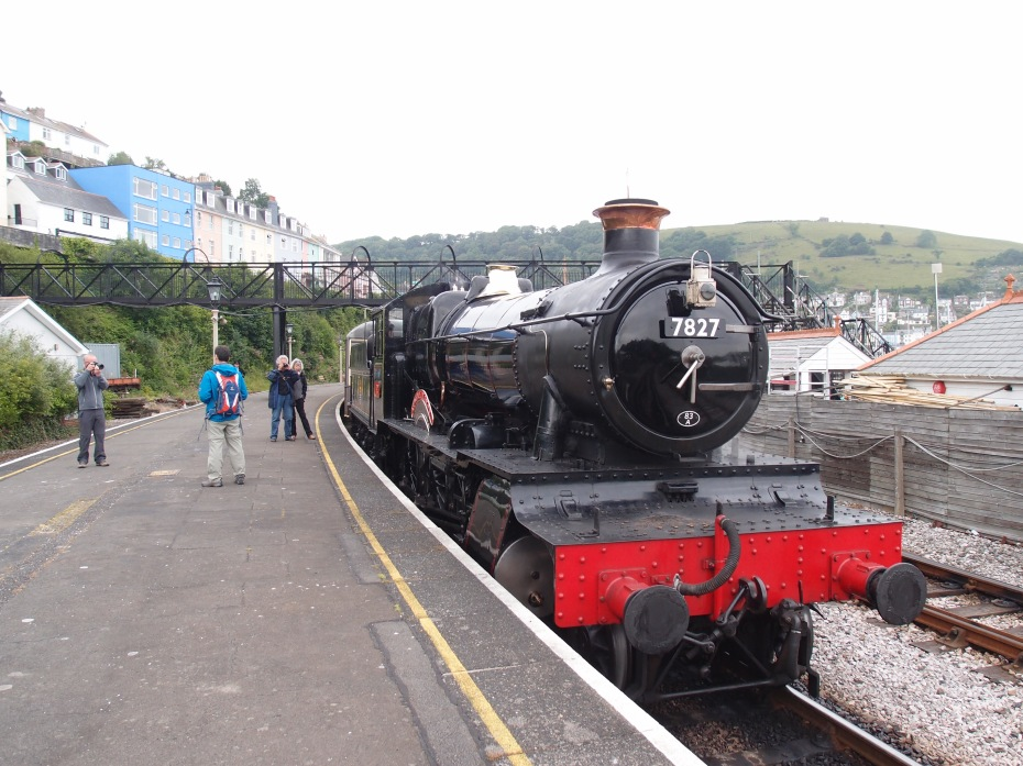 At Kingswear Station