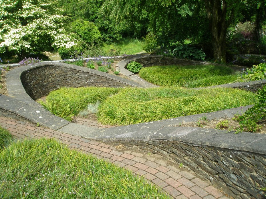 Detail of the utterly captivating Oval Garden