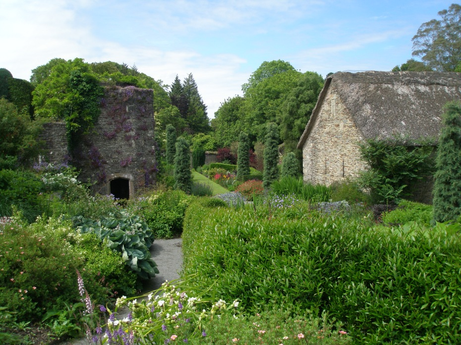 The Tower Ruins, and Bottom Terrace Garden.