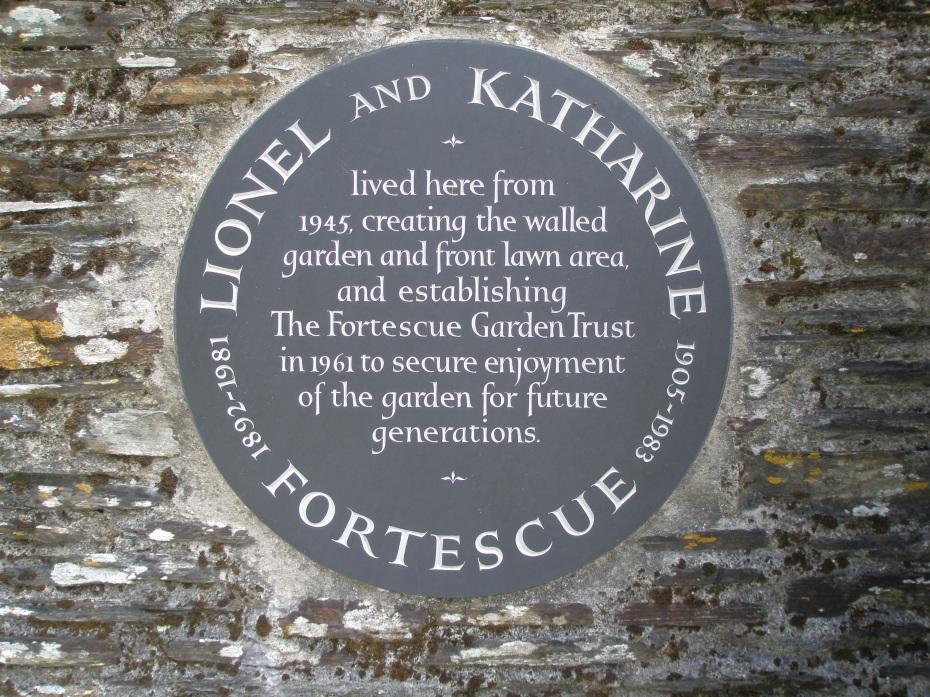 Walled Garden Plaque