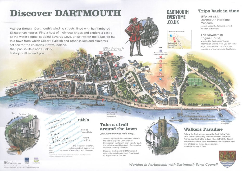Map of Dartmouth's Waterfront