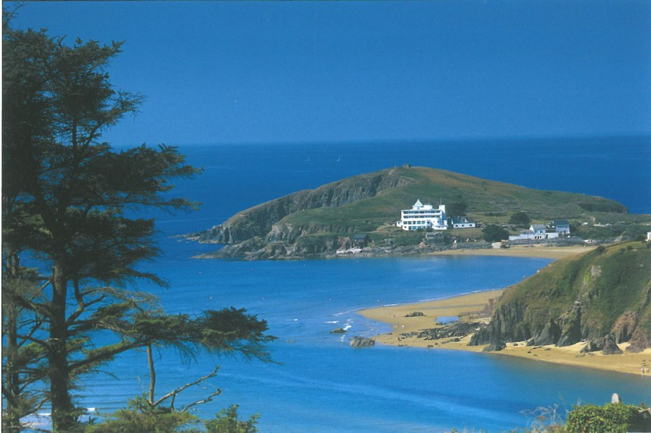 Burgh Island, in Bigbury Bay