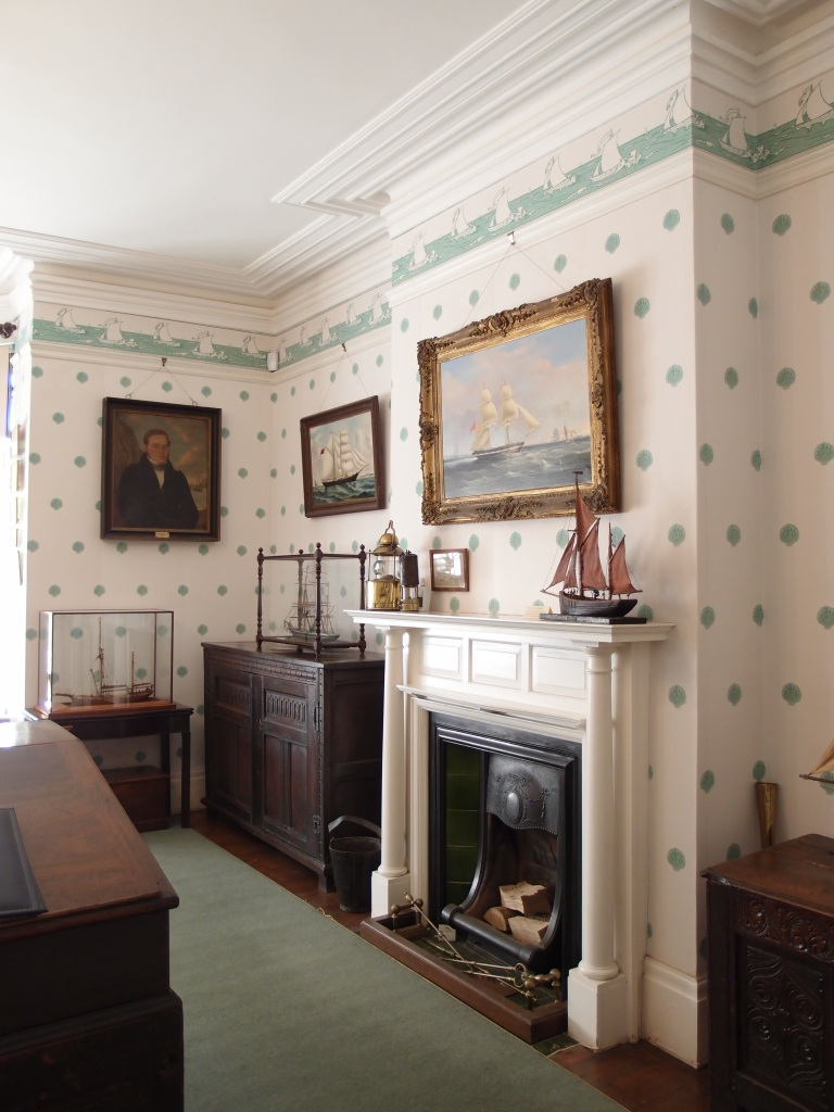In Overbeck's Maritime Room: a tribute to Salcombe's 19th century glory days, when it was a busy seaport. The paintings and scale models on display here are a catalogue of maritime disaster: every ship shown was lost at sea.