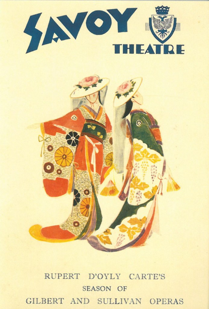 Savoy Theatre Poster. Image courtesy of the National Trust.