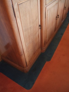 Detail of custom-made Dining Room sideboard