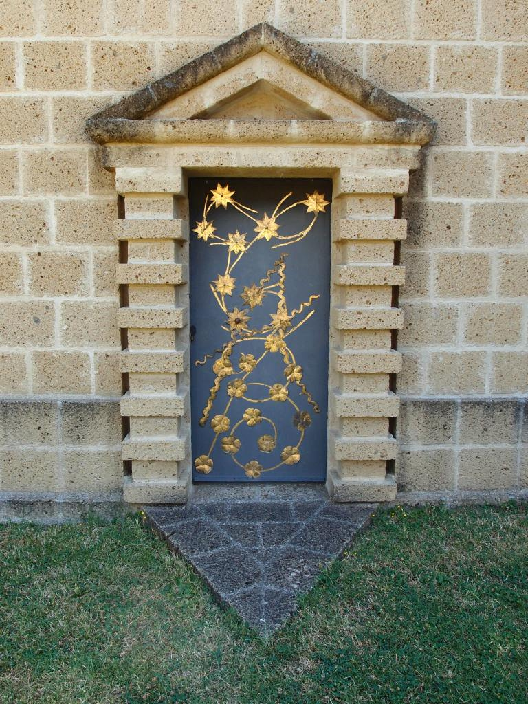 Detail of Tower Door