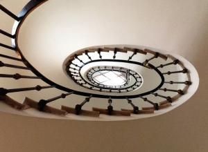 Tomaso Buzzi: Staircase at Palazzo Cini, in Venice